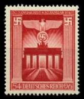 3. REICH 1943 Nr 829 Postfrisch X6EFC5E - Allemagne