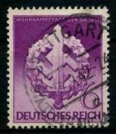 3. REICH 1942 Nr 818 Gestempelt X6F282A - Allemagne
