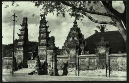 Bali  -  Tempel / Temple  -  Ansichtskarte Ca.1960   (10673) - Indonesien