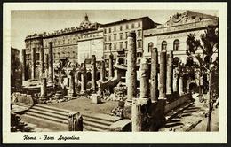 Rom / Roma  -  Faro Argentina  -  Ansichtskarte Ca.1943  (10670) - Roma