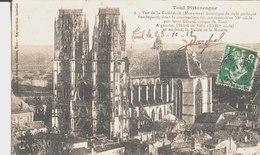 Toul Pittoresque. Vue De La Cathédrale. De Hubert Marchal à Paul Quent Mécanicien à Marles. 1912. - Toul