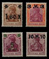 D-REICH INFLA Nr 154-157 Postfrisch X71DEC2 - Allemagne