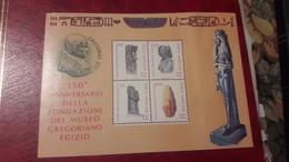 1989 Anniversario Della Fondazione Del Museo Gregoriano Egizio - Nuovi