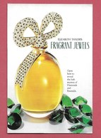 F- Carte Glacée Elisabeth Taylor Diamonds And Emeralds  -  Perfume Card - USA - Cartes Parfumées