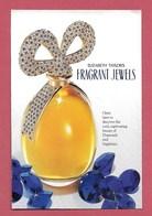 F- Carte Glacée Elisabeth Taylor Diamonds And Sapphires   -  Perfume Card - USA - Cartes Parfumées