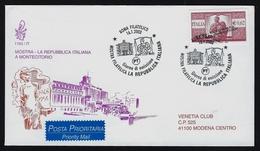 """2003 ITALIA """"MOSTRA LA REPUBBLICA ITALIANA / MONTECITORIO'"""" FDC VENETIA - F.D.C."""