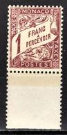 MONACO 1924 / 1932  N° 23  -  Timbres Taxe NEUF** - Taxe