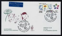 """2003 ITALIA """"SERVIZIO CIVILE NAZIONALE"""" FDC VENETIA - 6. 1946-.. Republic"""
