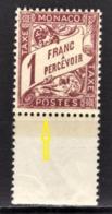 MONACO 1924 / 1932  N° 23  -  Timbres Taxe NEUF** - Variétés