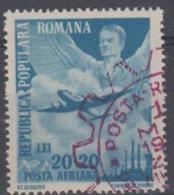 ROMANIA - 1948 Labor Day - Plane. Scott CB17. Used - 1948-.... Republiken