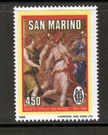 SAN MARINO 1986 Apollo Dancing With The Muses Scott Cat. No(s). 1116 MNH - San Marino