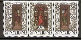 SAN MARINO 1986 Christmas  Scott Cat. No(s). 1119a MNH - San Marino