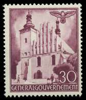 GENERALGOUVERNEMENT 1941 Nr 68 Postfrisch X889EEA - Besetzungen 1938-45