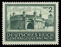 GENERALGOUVERNEMENT 1943 Nr 113 Postfrisch X889F3E - Besetzungen 1938-45