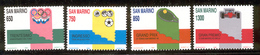 SAN MARINO 1989 Sporting Anniversaries And Events Scott Cat. No(s). 1175-1178 MNH - San Marino