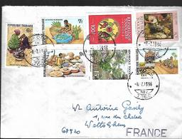 TOGO    Lettre  Du  06  07 1996   De  Sokode       Pour Colmar - Togo (1960-...)