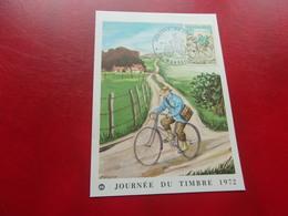 FRANCE (1972) Journée Du Timbre MARSEILLE - Cartes-Maximum