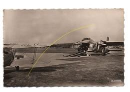 Carte Postale Véritable Photo Le Touquet Pris-plage L'aérodrome, Avion Transportant Les Automobiles,rare...........T1 - Le Touquet