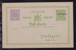 Stuttgart K.W. Güter-Expedition - Wuerttemberg
