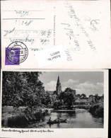 609571,Brandenburg An Der Havel Dom Boot - Deutschland