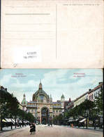 609519,Anvers Antwerpen Flandern Avenue De Kayser Straßenansicht - Belgien
