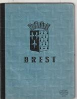 Cahier Ancien BREST Blason En Couverture   80 Gr  (Bon état) - Blotters