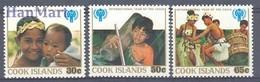 Cook Islands 1979 Mi 618-620 MNH ( ZS7 CKI618-620 ) - Tanz