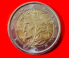 ITALIA - 2016 - Moneta - Dante Alighieri, Dipinto Da Raffaello - Euro - 2.00 - Italia