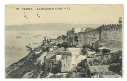 CPA MAROC TANGER LES REMPARTS ET LA RADE - Tanger