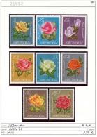Albanien - Albanie - Albania - Michel 1153-1160 - ** Mnh Neuf Postfris - Rosen - Blumen - Roses - Flowers Fleurs - Albanien