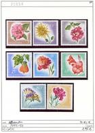 Albanien - Albanie - Albania - Michel 1143-1150 - ** Mnh Neuf Postfris - Blumen - Flowers Fleurs - Albanien