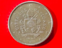 VATICANO - 2017 - Moneta - Stemma Papa Francesco - Euro - 0.50 Cent. - Vaticano