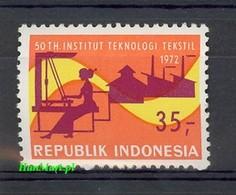 Indonesia 1972 Mi 705 MNH ( ZS8 INS705 ) - Textil