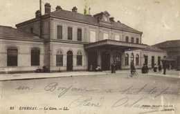 EPERNAY  La Gare RV - Epernay