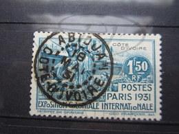 """VEND BEAU TIMBRE DE COTE D ' IVOIRE N° 87 , OBLITERATION """" ABIDJAN """" !!! - Oblitérés"""