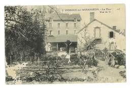 CPA 18 VIGNOUX-SUR-BARANGEON LE MOULIN NEUF VUE DE FACE Abimee - Other Municipalities