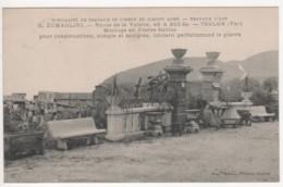 ° 83 ° TOULON ° H. ZUMAGLINI Route De La Valette 45 & 203 Bis ° Moulage En Pierre Factice ° - Toulon