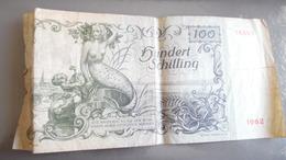 Billet 100 Shillings AUTRICHE 1949 - …-1952 : Before Elizabeth II
