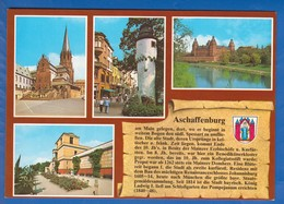 Deutschland; Aschaffenburg; Multibildkarte - Aschaffenburg