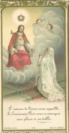 CANIVET IMAGE RELIGIEUSE  L'AMOUR DE JESUS VOUS APPELLE  EGLISE SAINT LEON 1932 - Andachtsbilder