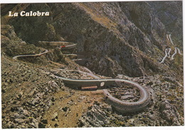 La Calobra - Detalle De Su Carretera - Vista Aérea - (Mallorca, Baleares, Espana/Spain) - Mallorca