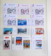 Monaco Lot De 13 Timbres Neufs De 2011 Et 2012 - Monaco