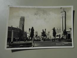BELGIQUE BRUXELLES BRUSSEL  EXPOSITION DE 1935 AVENUE DE LA COLONIE - Expositions Universelles