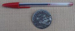 006, Transport Moto, Badge Médaille Insigne Le Mans Grand Prix De France 1990 - Motos