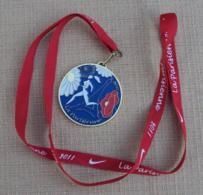 002, Médaille Sport Marathon La Parisienne 2011, Course à Pied, Mairie De Paris - Zonder Classificatie