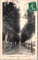 45 ARTENAY - Mails, Allée Des Tilleuls. - Artenay