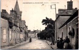 45 ASCHERES LE MARCHE - La Grande Rue. - France