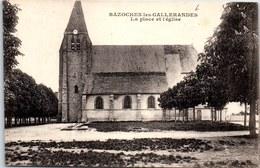 45 BAZOCHES LES GALLERANDES - La Place De L'église. - France