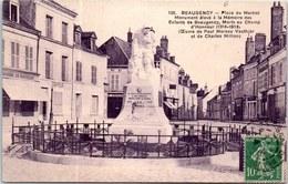 45 BEAUGENCY - Vue D'ensemble De La Place Du Martroi. - Beaugency