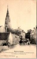 45 BEAUNE LA ROLANDE - Une Vue Vers L'église. - Beaune-la-Rolande